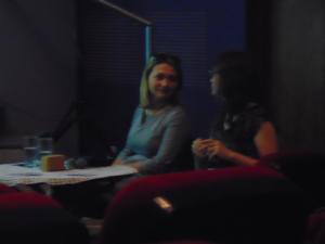 Psycholog Maja Wyremblewska (z lewej) i psycholog Dominika Miedzińska-Golczyk (z prawej)